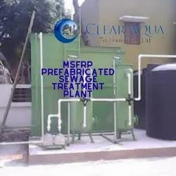 Mild Steel Frp Lined Packaged Sewage Treatment Plant
