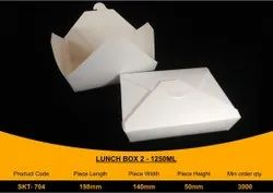 Disposable Lunch Box 1250 ml