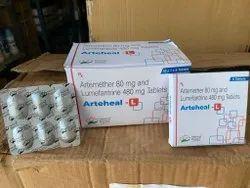 Artemether 80 mg and Lumefantrine 480 mg Tablets