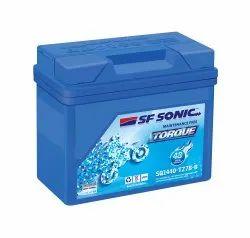 Capacity: 7 Ah SF Sonic Torque Bike Battery, SQ1440-TZ7B-B