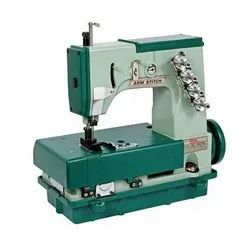 Semi Automatic Leno Bag Cutting And Sewing Machine