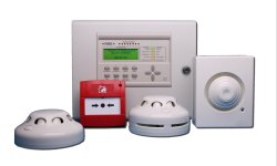 Plastic Smoke Detectors Wireless Fire Alarm System
