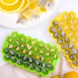 Flexible Silicon Ice Cube - Silicon Ice Tray For Freezer