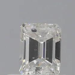Emerald 0.40ct F VS2 GIA Certified Natural Diamond