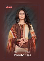 Cotton Normal Salwar Bipson Fashion Presents Preeto 1295