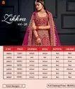 Zikkra Vol 16 Velvet Designer Bridal Lehenga Catalog Collection