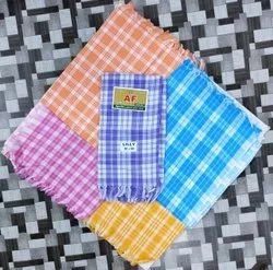 AF Lilly Check Cotton Towel, Rectangular, Size: 30 X 60 Inch