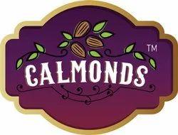2D Calmonds Logo Design