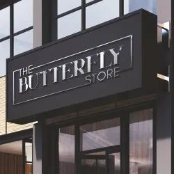 Butterfly Store Logo Designing