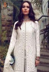 Shraddha Designer Sana Safinaz Vol 3 Cambric Cotton With Work Pakistani Suit Catalog