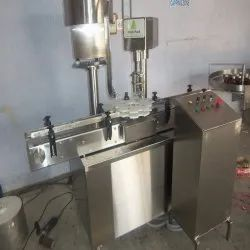 SS Automatic Bottle Capping Machine