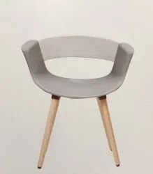 Moulded Cafeteria Chair - Lisbon Woody