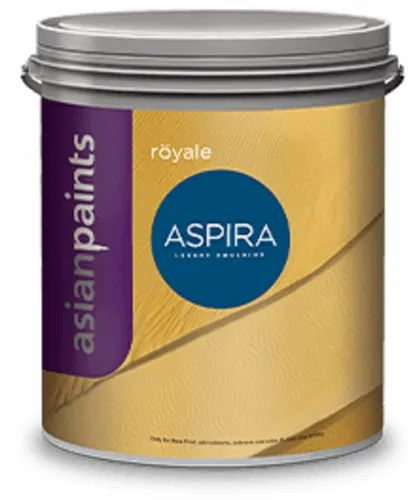 High Gloss Distemper Asian Paints Royale Aspira Interior Paint Packaging Type Bucket Packaging Size 1 Litre Rs 570 Litre Id 23134812373