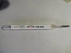 Hicks Oval Clinical Thermometer
