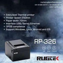 Rugtek Rp326 Use Thermal Printer