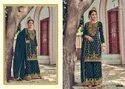 Eba Lifestyle Rose Gold Embroidery Designer Salwar Suit Catalog