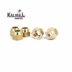 Kaliraj Impex Brass Flare Nut Dead Cap, Size: 15 Mm