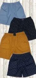Flex Armor Knee Length Mens Cotton Shorts, Size: Small