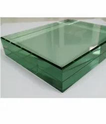 Toughened Glass, For Office, Shape: Flat