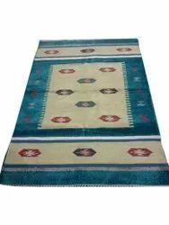 3x7 Feet Rectangle Cotton Handloom Durries