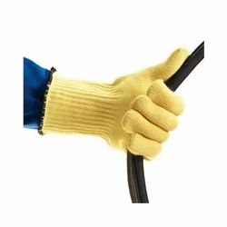 Kevlar Knitted Heat Resistant Hand Gloves