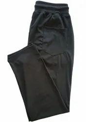 Laycra Casual Wear Mens Black Sports Trousers