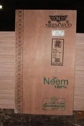 Neem Wud Semi Hardwood 18 mm Commercial Plywood Board, Grade: IS:303, Size: 8x4 Feet