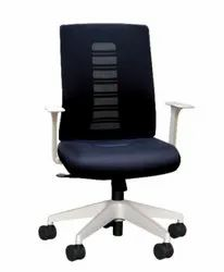 Executive Medium Back Chair - Frisco White