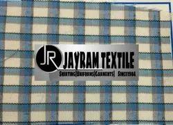 Solapur School Uniform Grey Checks Fabric