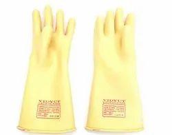 Vidyut Electricity Gloves Rubber Hand Gloves 11 KVA