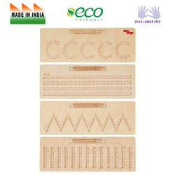 Wooden Tracing Basic Patterns