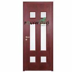 Polywood PVC Egress Glass Doors