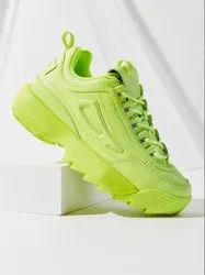 Parrot Green Casual Shoes