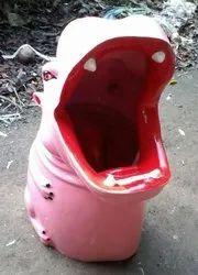 Hippo Dustbin