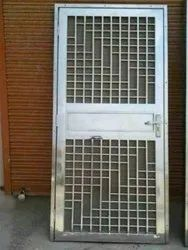 Standard Stainless Steel SS Door, Single, Thickness: 20mm