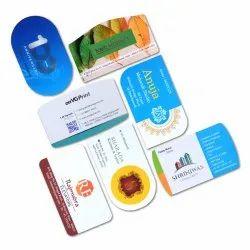 Plastic Velvet Business Card