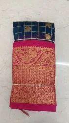 Wedding Wear Banarasi Silk Gota Saree