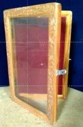 Glass Door Notice Board