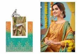 Nishant Fashion Bandhej Silk Fabulous Women Salwar Kameez Collection Wholesale Catalog