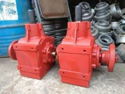 Mild Steel Sugarcane Stubble Shaver Gearbox, For Agriculture