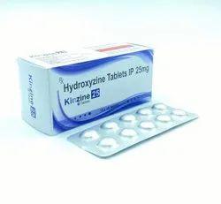 Hydroxyzine  Tablet ip 25 mg