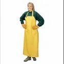 PVC Yellow Safety Apron Size 24''''48