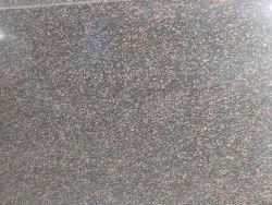 Polished Brown Granite Slab, Thickness: 15 mm