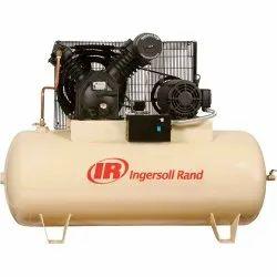 AC Three Phase Ingersoll Rand Air Compressor, Air Tank Capacity: 300 L