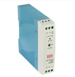 MDR-20-24 Mean Well Din Rail Power Supplies 24w 24v