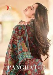 Deepsy Suits Panghat Vol 13 Cotton Print With Embroidery Dress Material Catalog