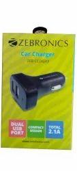 2.1Amp Zebronics ZEB-CC242A3 Car Charger