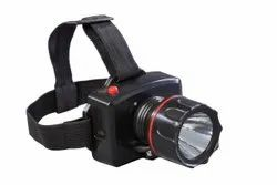 shiny Plastic Rechargeable Headlight, Battery Type: Lithium Ion, Capacity: 1200mh