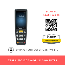 Zebra MC2200 Rugged Handheld Mobile Computer