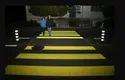 Yellow Zebra Crossing Road Marking Service